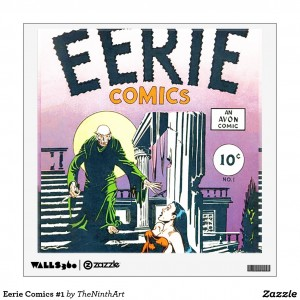 Eerie Comics #1 Wall Decal